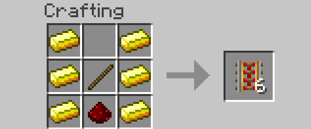 how to make powered rails work in minecraft