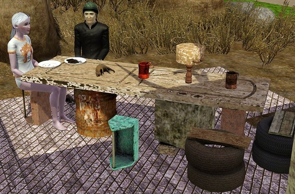 Free Sims 3 Download Apocalypse Dining Set Wordpuncher