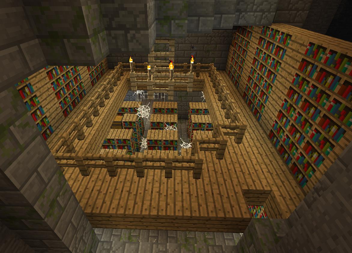 как сделать библиотеку в майнкрафт #9