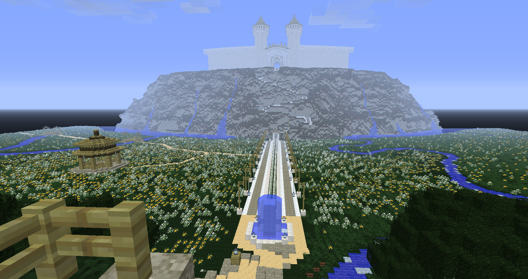 The fall of gondolin lotr adventuresurvival minecraft map created gumiabroncs Choice Image