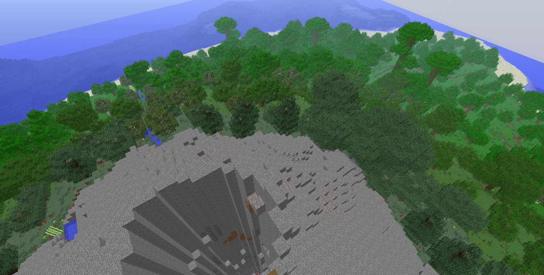 Volcanic minecraft survival island map wordpunchers video game this baditri Gallery
