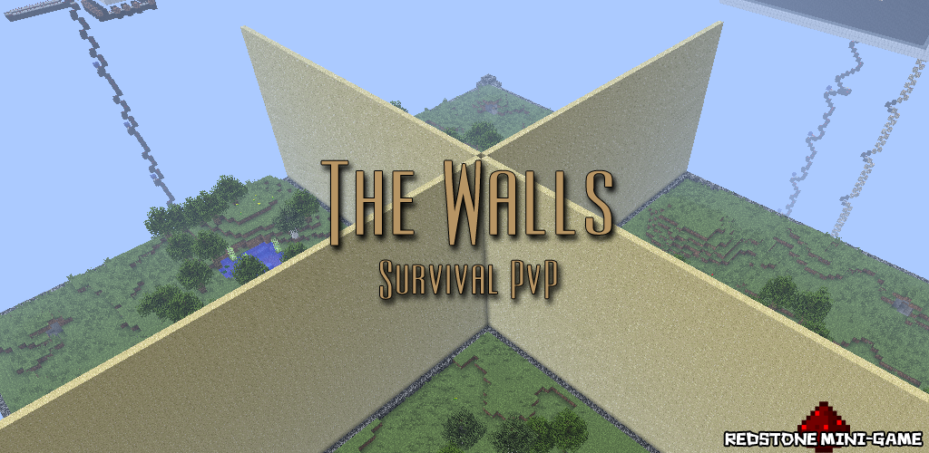 The Walls, Minecraft PvP Survival Map | WORDPUNCHER\'S VIDEO ...