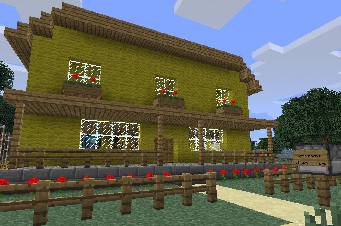 Wonderland, Minecraft Adventure Map | WORDPUNCHER\'S VIDEO GAME ...