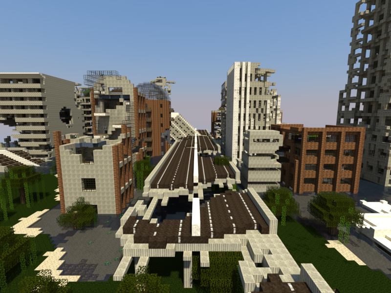 Letters from a dead earth minecraft city survival map download four dead cities gumiabroncs Image collections