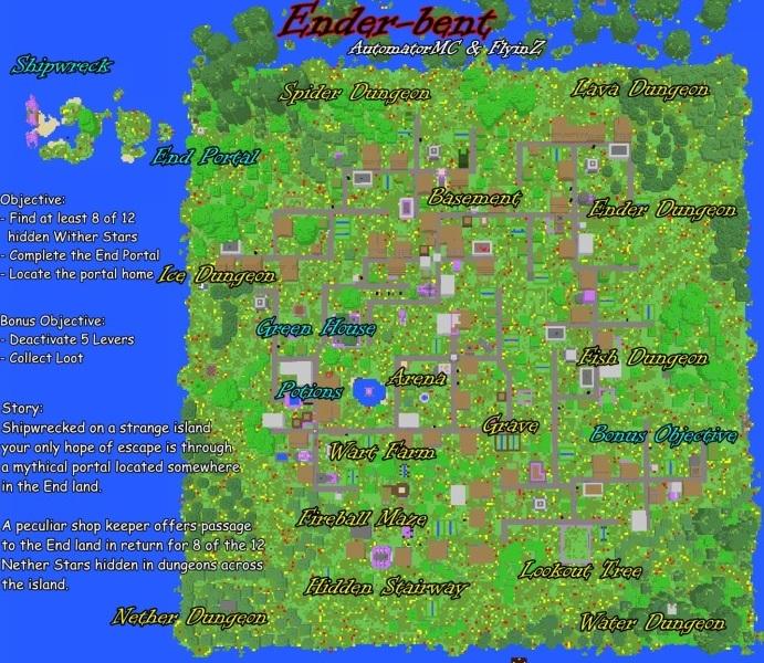 Top Three Minecraft Adventure Map Downloads For Minecraft 1 4