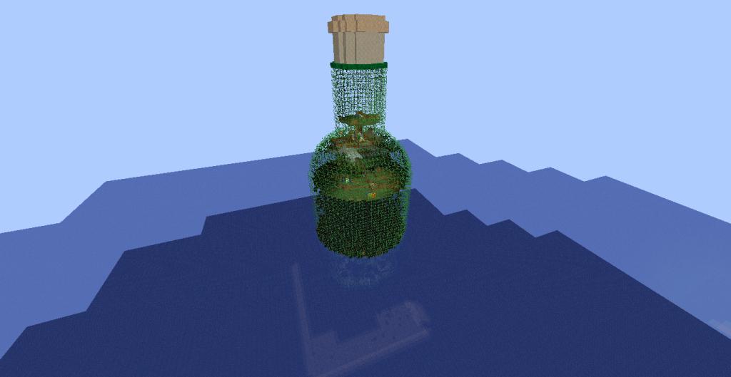 Craft Glass Bottles Minecraft