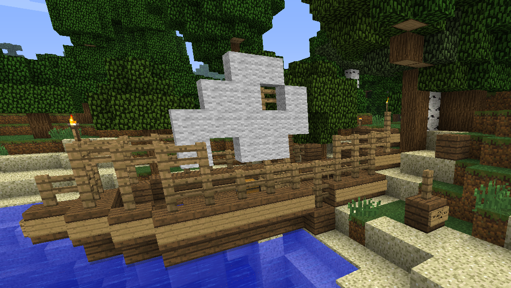 The Stranded Pirate, Minecraft Adventure Map Download ...