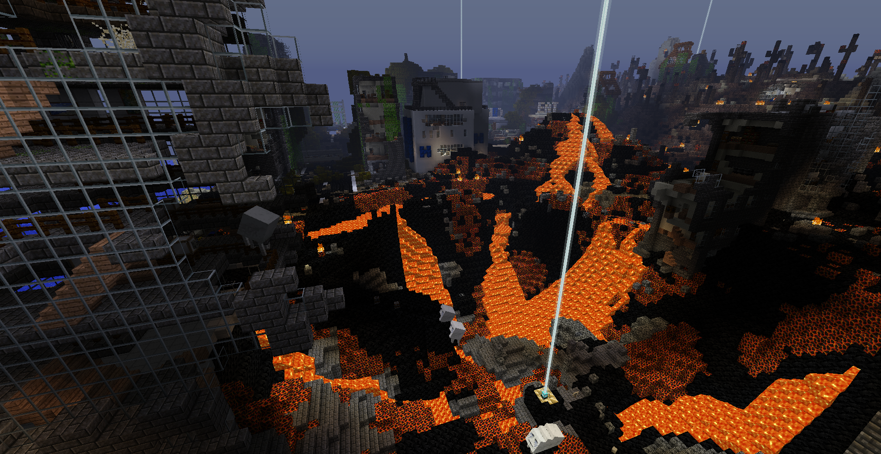 From Ashes Minecraft Ctm Adventure Map Wordpunchers