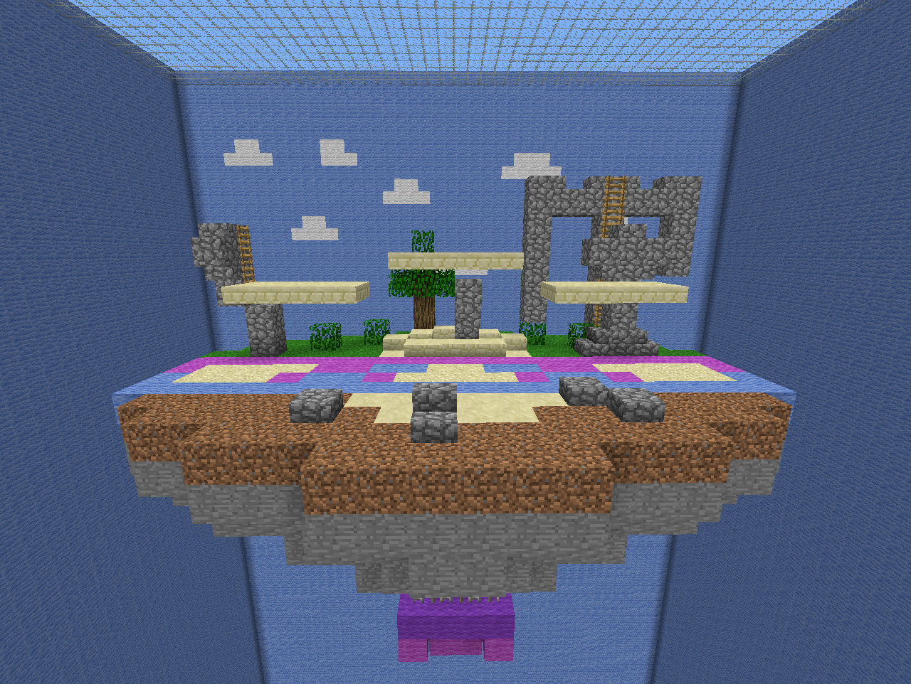 minecraft towers pvp map download