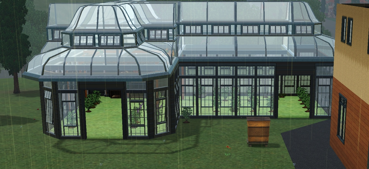 a sims 3 greenhouse