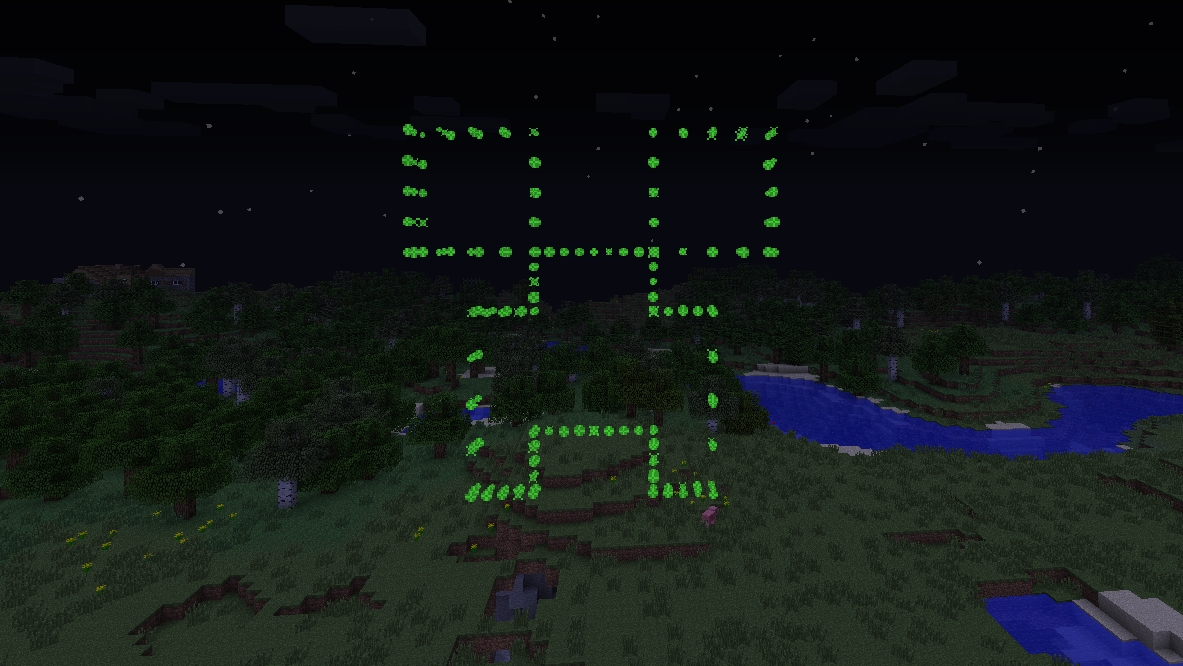 Minecraft Creeper In Real Life Creeper fireworks