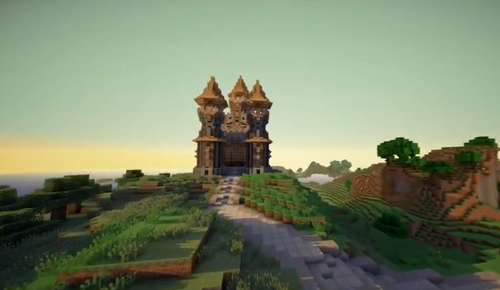 a minecraft castle download