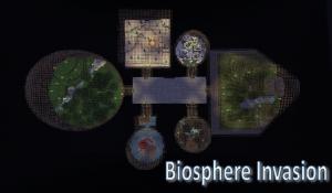 biosphere invasion minecraft adventure survival map