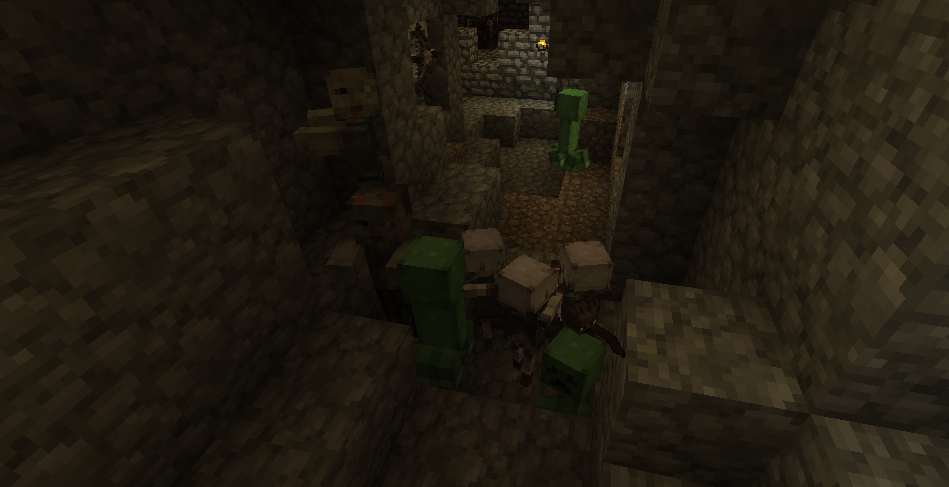 dangerous mobs guard minecraft emeralds