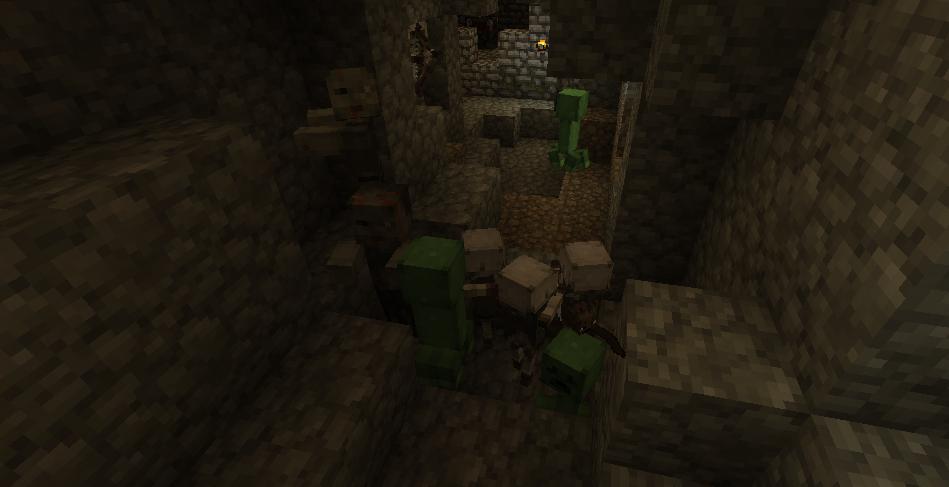 dangerous mobs guard minecraft emeralds