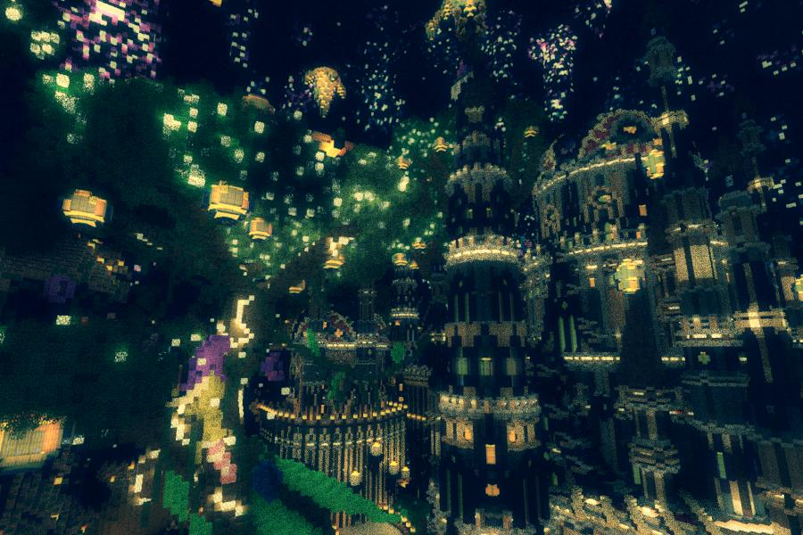 lunar awakening minecraft fantasy adventure map download