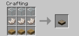 minecraft daylight sensor crafting recipe