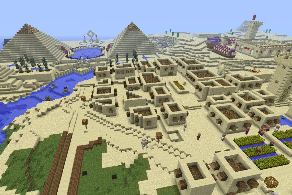 minecraft egypt adventure map