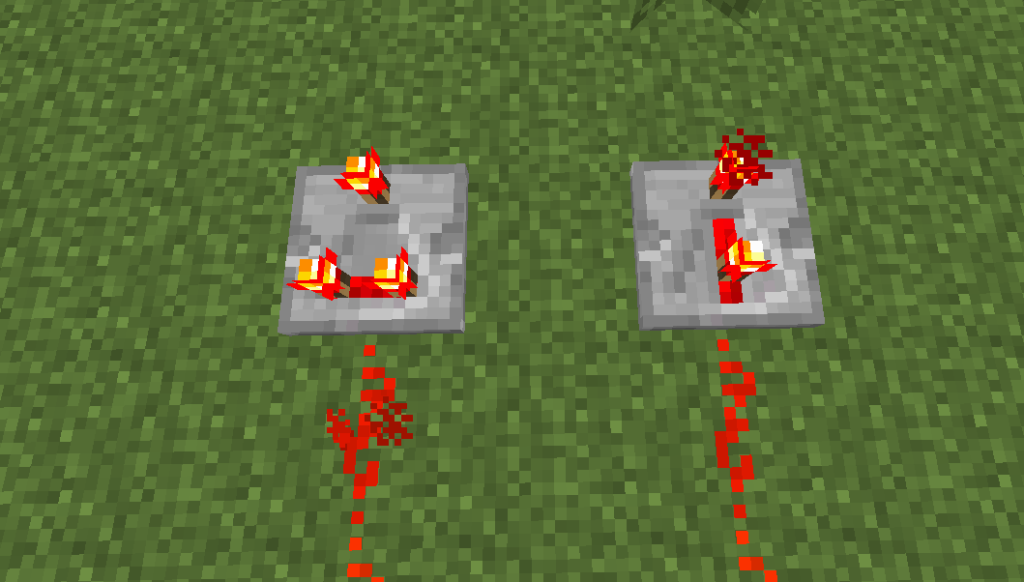 redstone comparator and redstone repeater