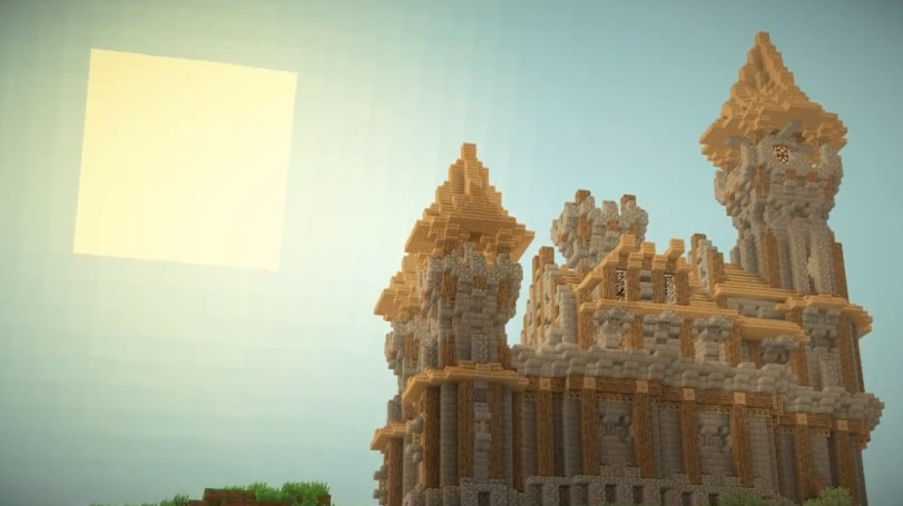 small medieval minecraft castle