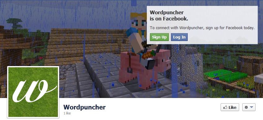 wordpuncher is on facebook