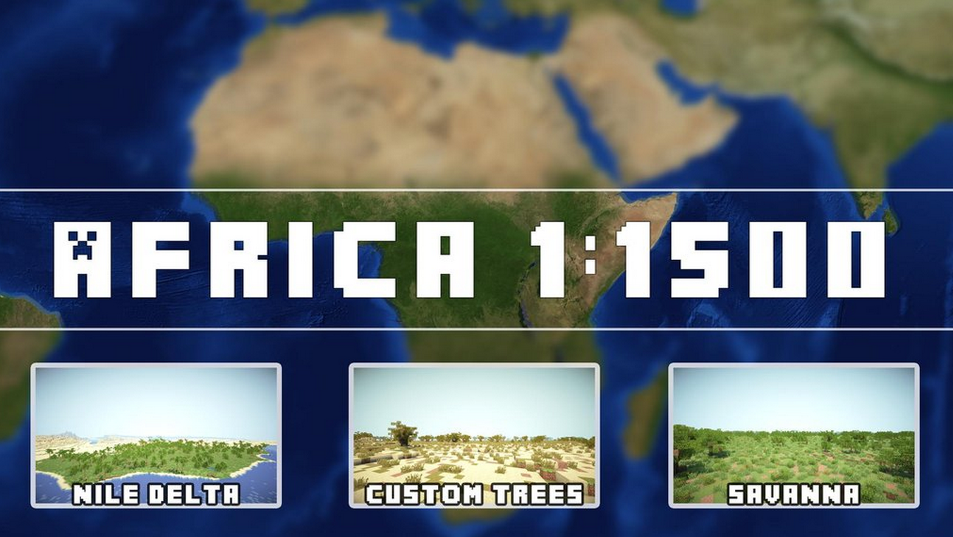 Minecraft Africa Map Download | WORDPUNCHER'S VIDEO GAME EXPERIENCE