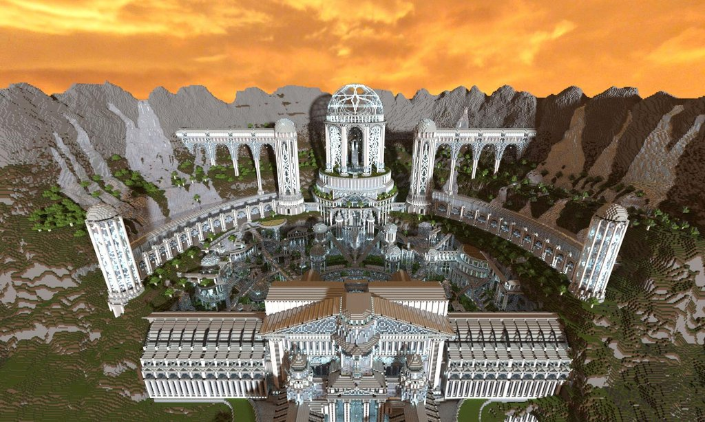 Adamantis minecraft fantasy city download wordpunchers video minecraft cliff city download sciox Image collections