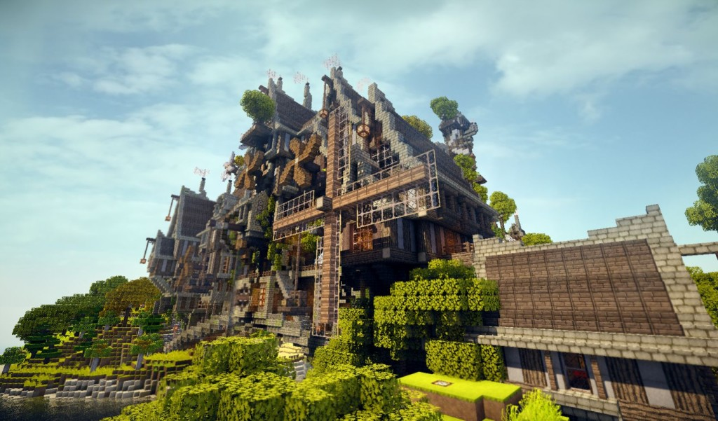 minecraft steampunk map download