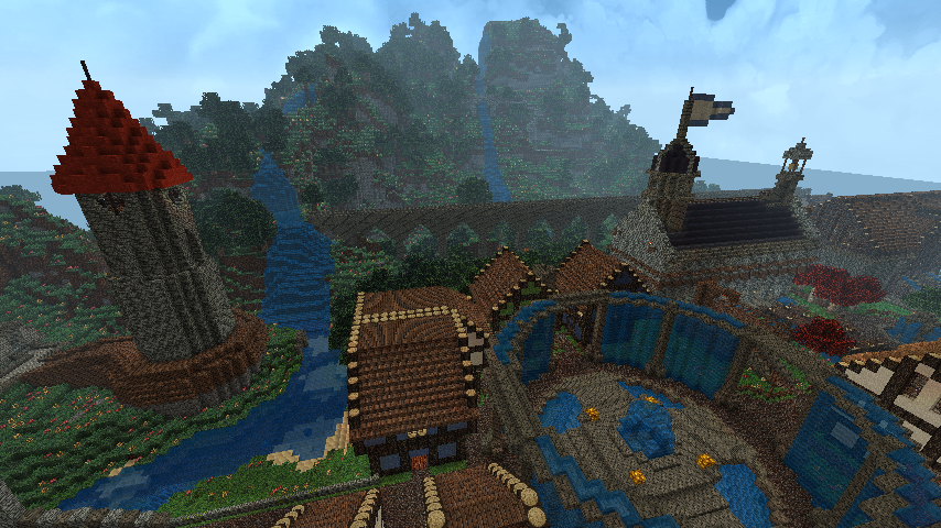 nivenska nights minecraft fantasy adventure map download