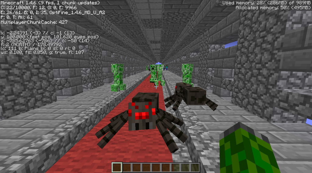 tunnel trouble minecraft combat survival map download