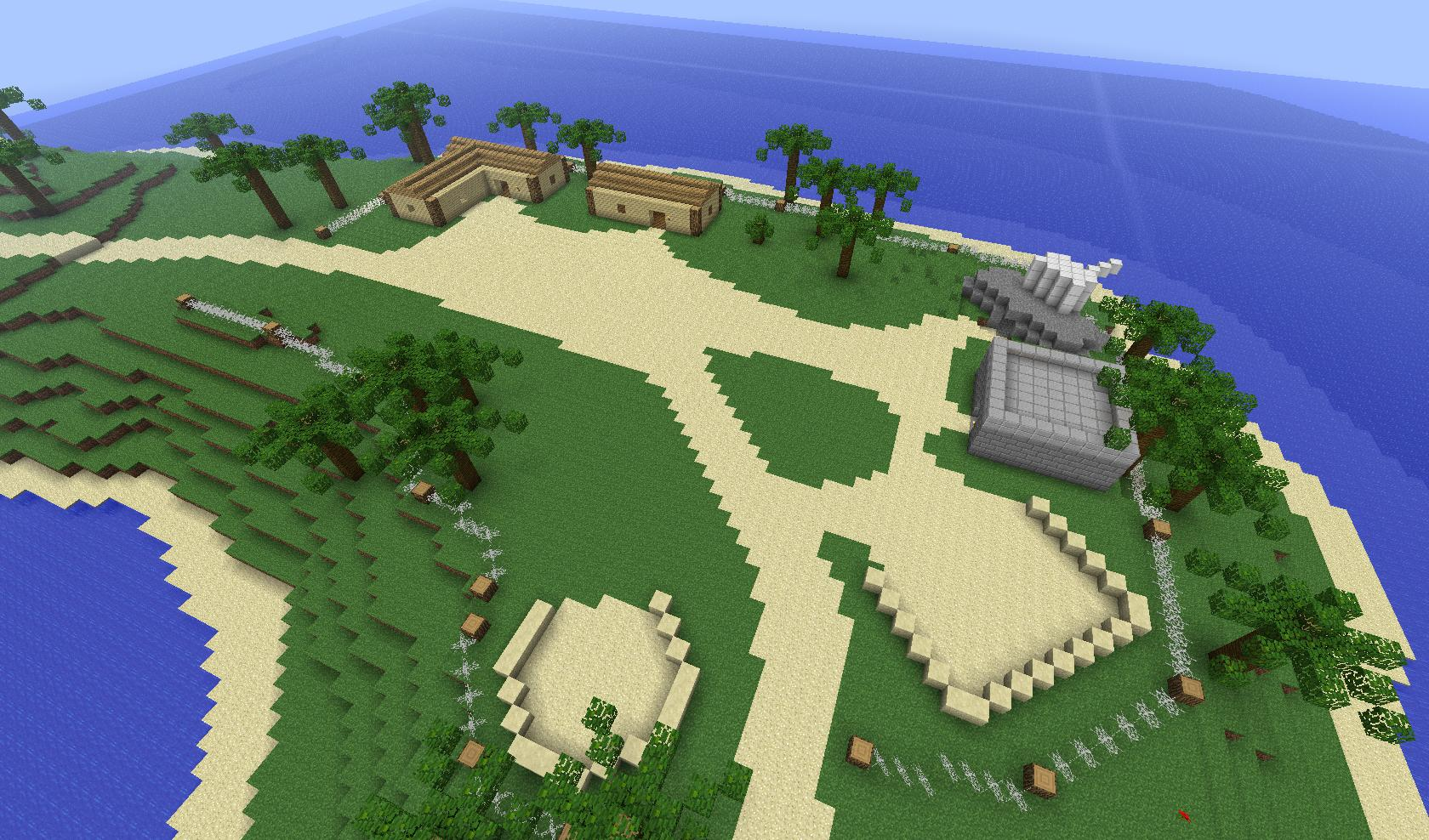 Wake Island Base Minecraft Map Download
