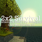 2×2 Square Survival Minecraft Survival Island