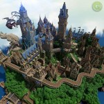 Halion, Massive Medieval Minecraft City, Keep and Castle Download