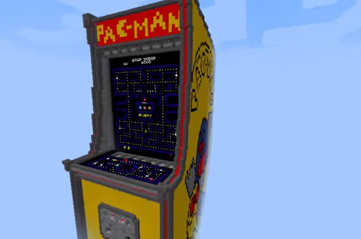 MINECRAFT PAC MAN MAP DOWNLOAD