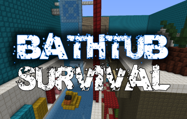 bathroom survival minecraft map