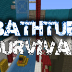 Bathroom Survival, Minecraft Bathtub Challenge Map