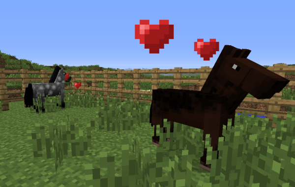 breeding minecraft horses