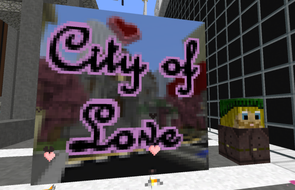 city of love minecraft dating adventure map