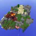 Corrupt Island, Minecraft Island Sky Block Survival Map Download