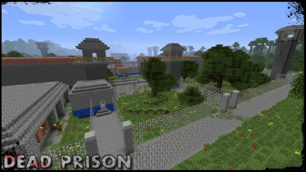 dead prison minecraft survival map download