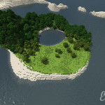 Eesher Island Minecraft Custom Survival Map