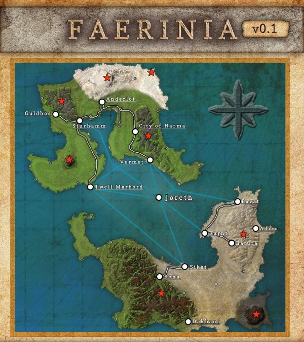 faerinia minecraft fantasy adventure map download