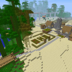 Minecraft 'Golf Course' Multiplayer Map