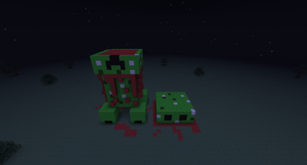 headless creeper taco