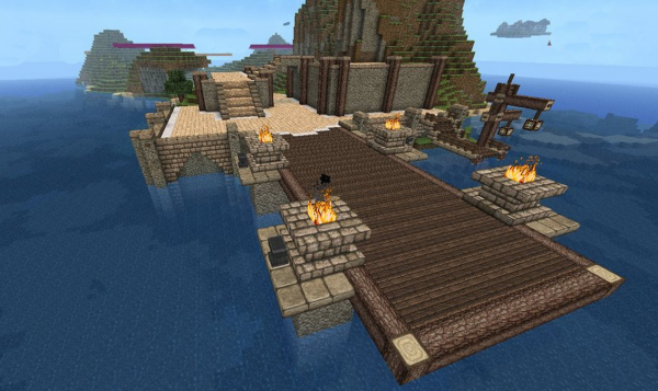 how to build a minecraft dock guide