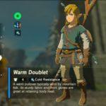 Zelda BOTW: How To Get The Warm Doublet