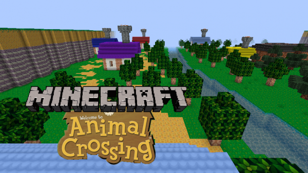 minecraft animal crossing download