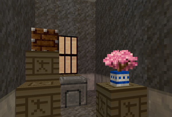 minecraft asian apartment interior