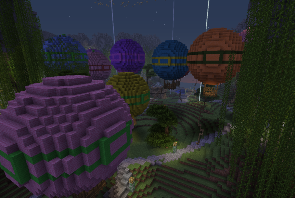 minecraft ballon field farm