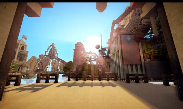 City of Columbia, Minecraft Bioshock Infinite Map Download